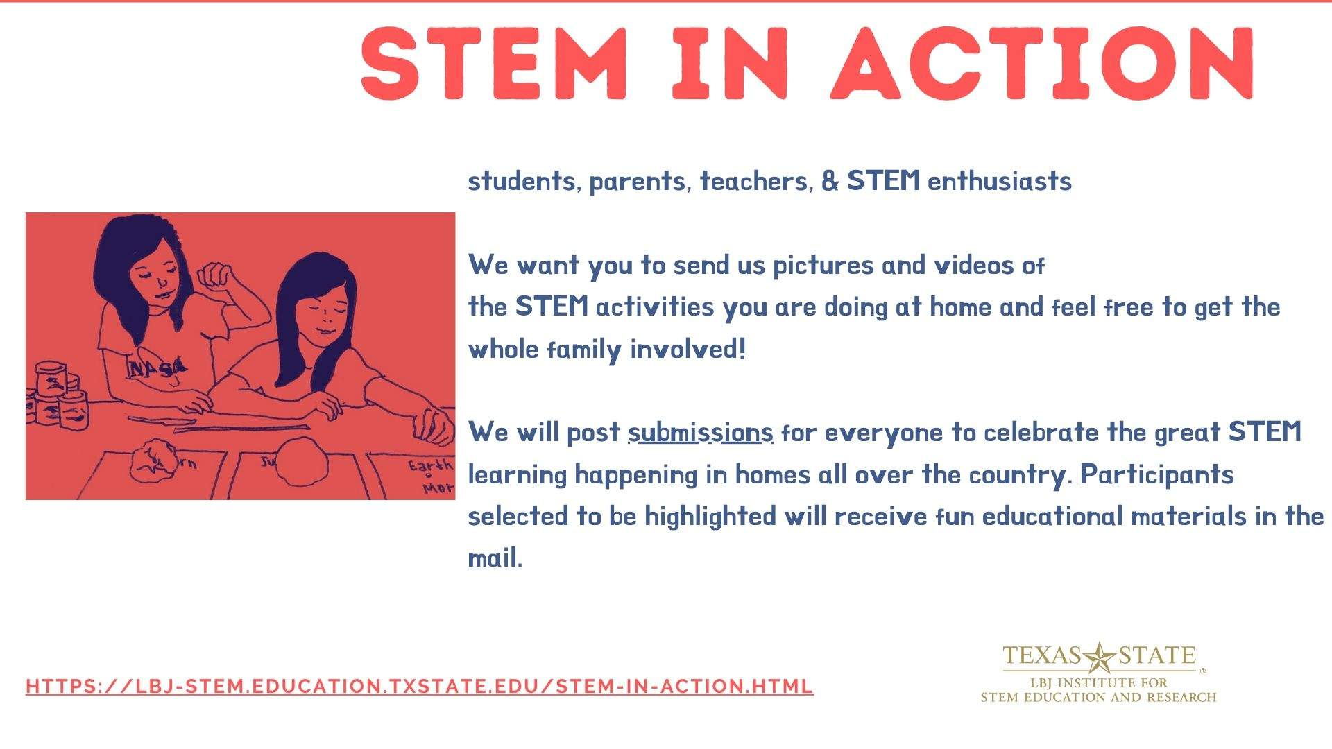 STEM in Action Drawing