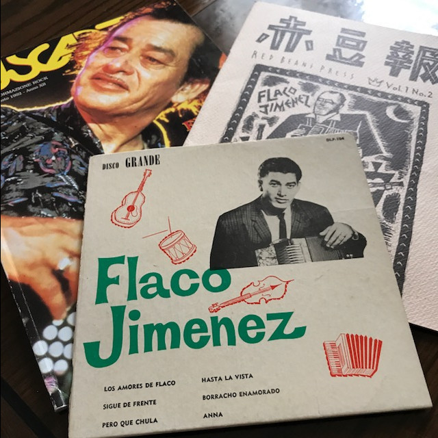 Photo of Flaco Jimenez memorabilia