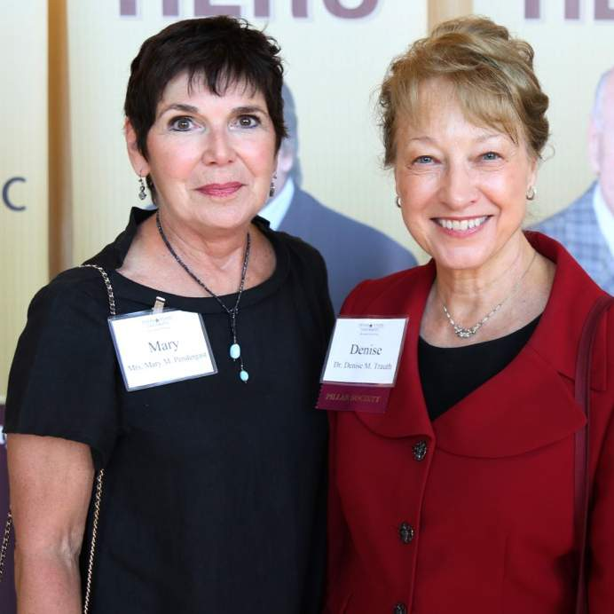 2 women at the 2017 Endowment Reception