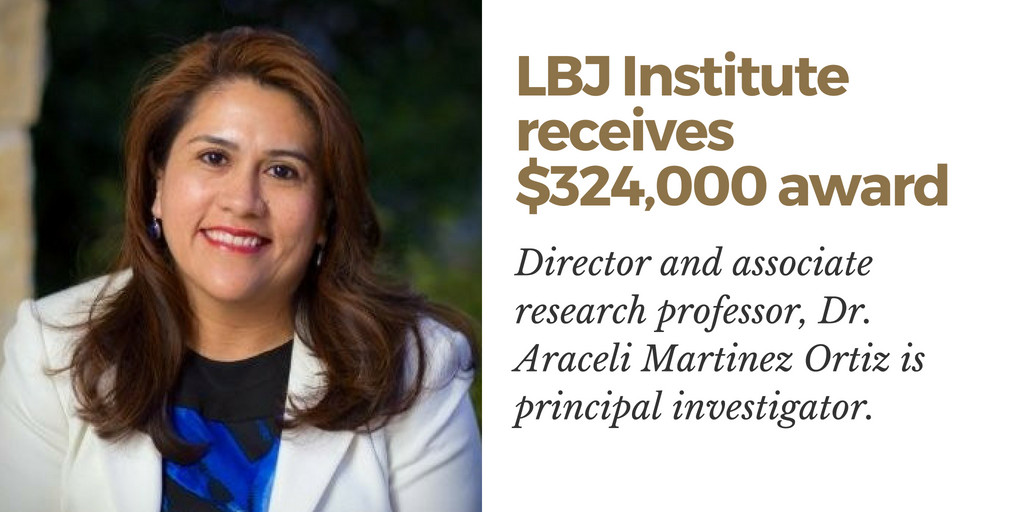 LBJ Institute Staff Receive $324,000 NASA Award