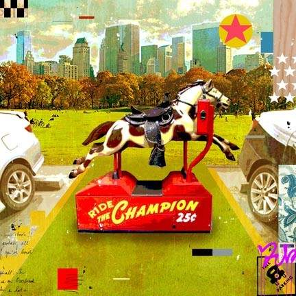 Ride the champion art