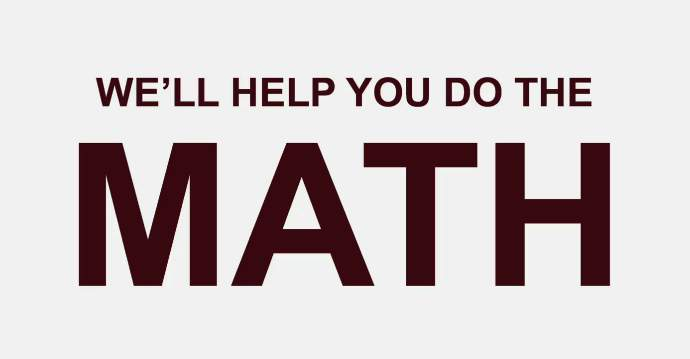 """we'll help you do that math"" financial aid video"