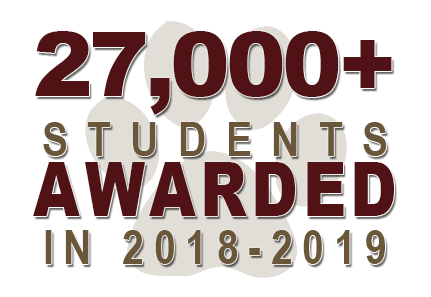 27,000 students awarded