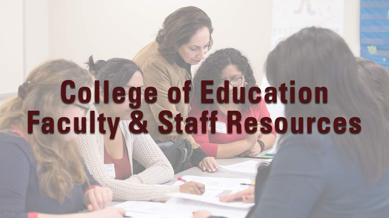 COE Faculty & Staff Resources