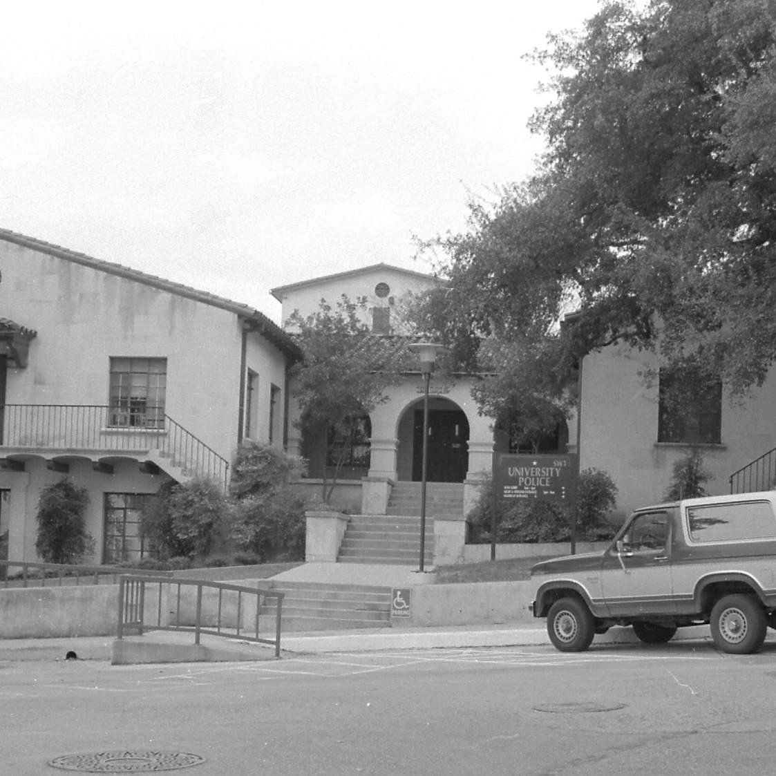 exterior image of UPD building in 1993