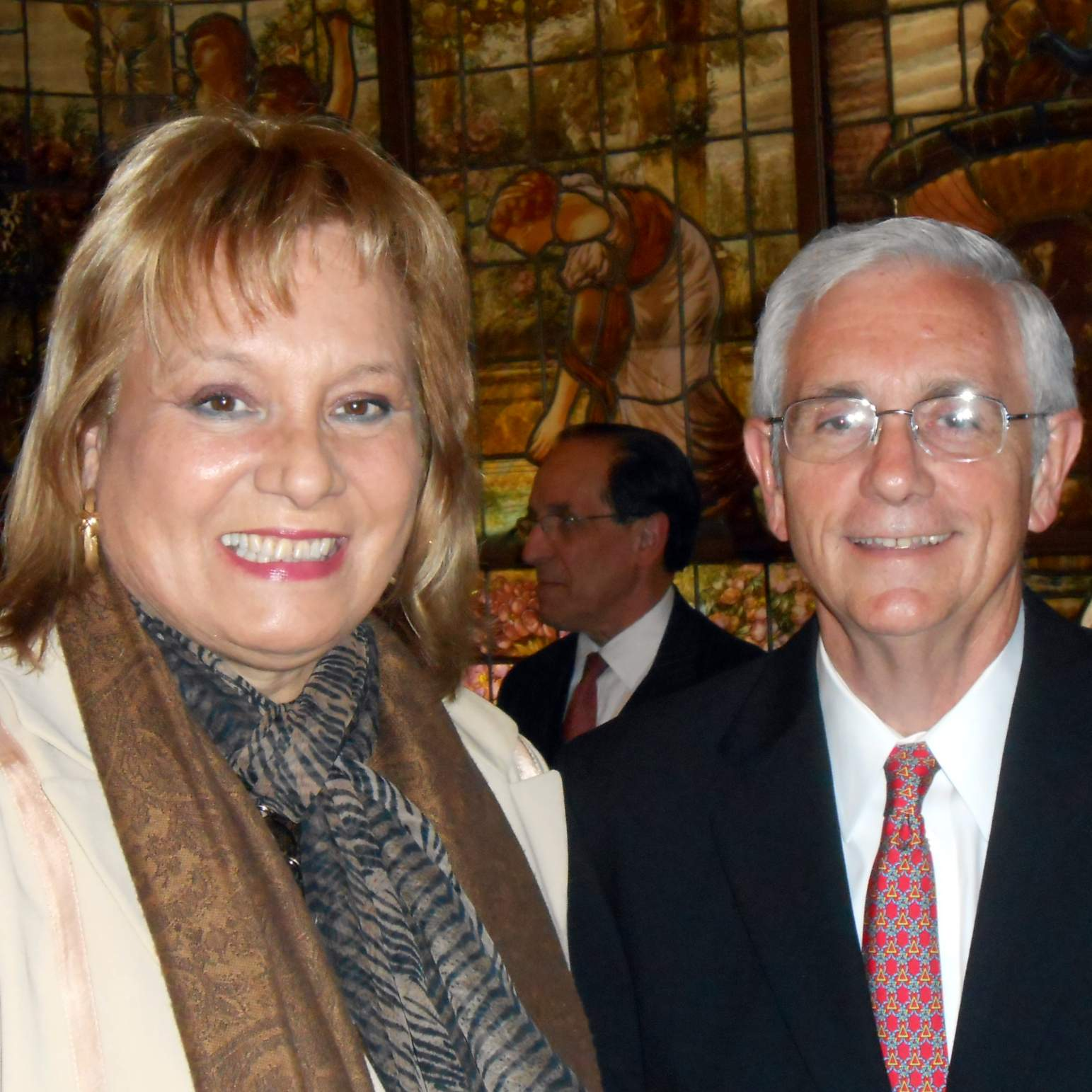 Cristina Camelino and Walter Wright
