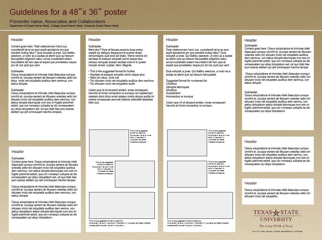 research poster template office of research and sponsored programs