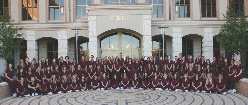 The inaugural nursing Class of 2012