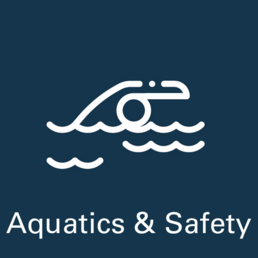 Aquatics and Safety Page Button
