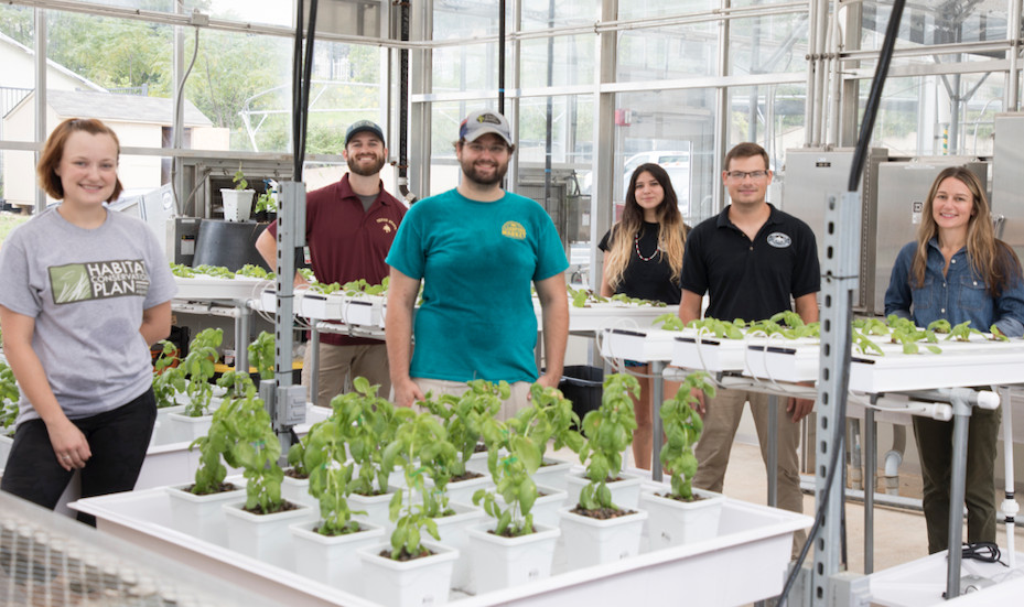 Hydroponics Learning Community Group Photo