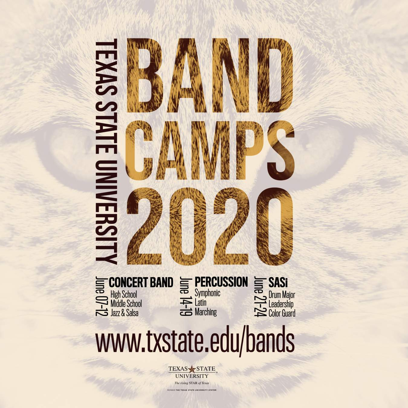 Band Camp 2020 Poster