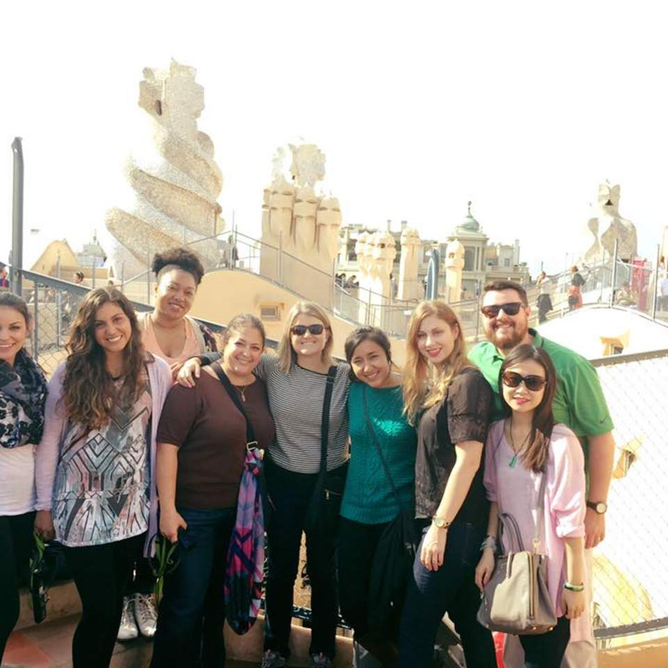 SAHE students studying abroad