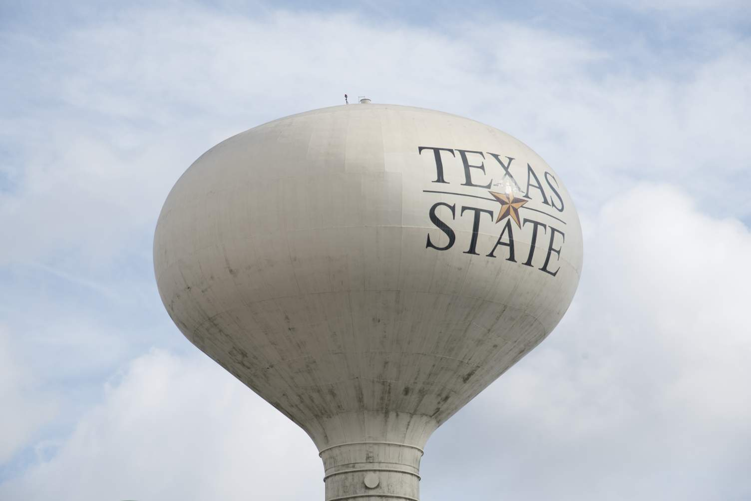 Texas State water tower