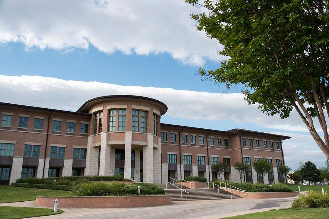 RR Campus library exterior