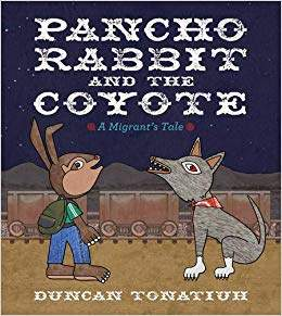 Pancho Rabbit and the Coyote Cover