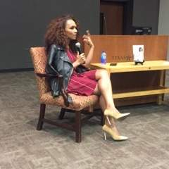 Janet Mock Presenting for the Texas State Community