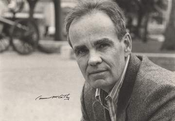 Photograph of Cormac McCarthy by Bill Wittliff, © 1987