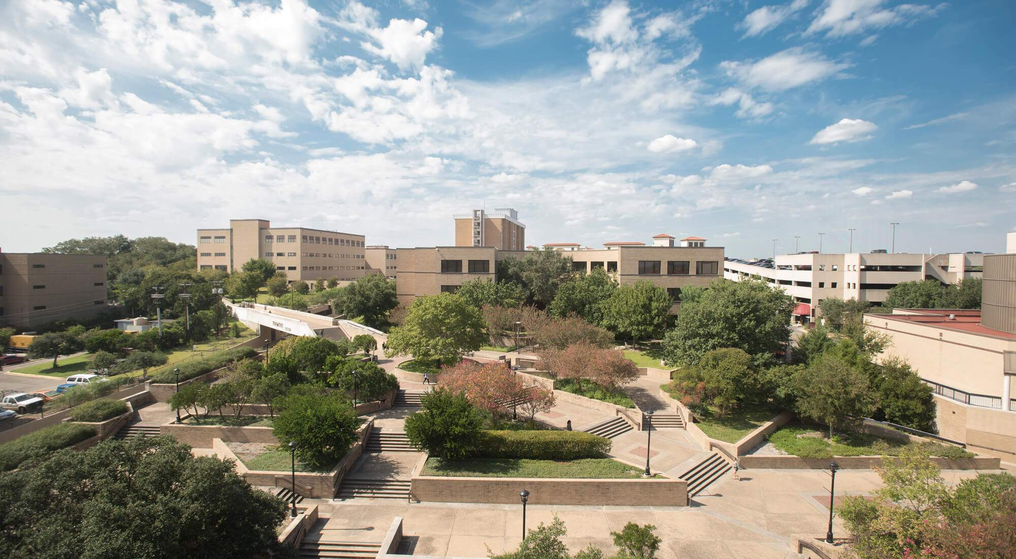 a view of west campus