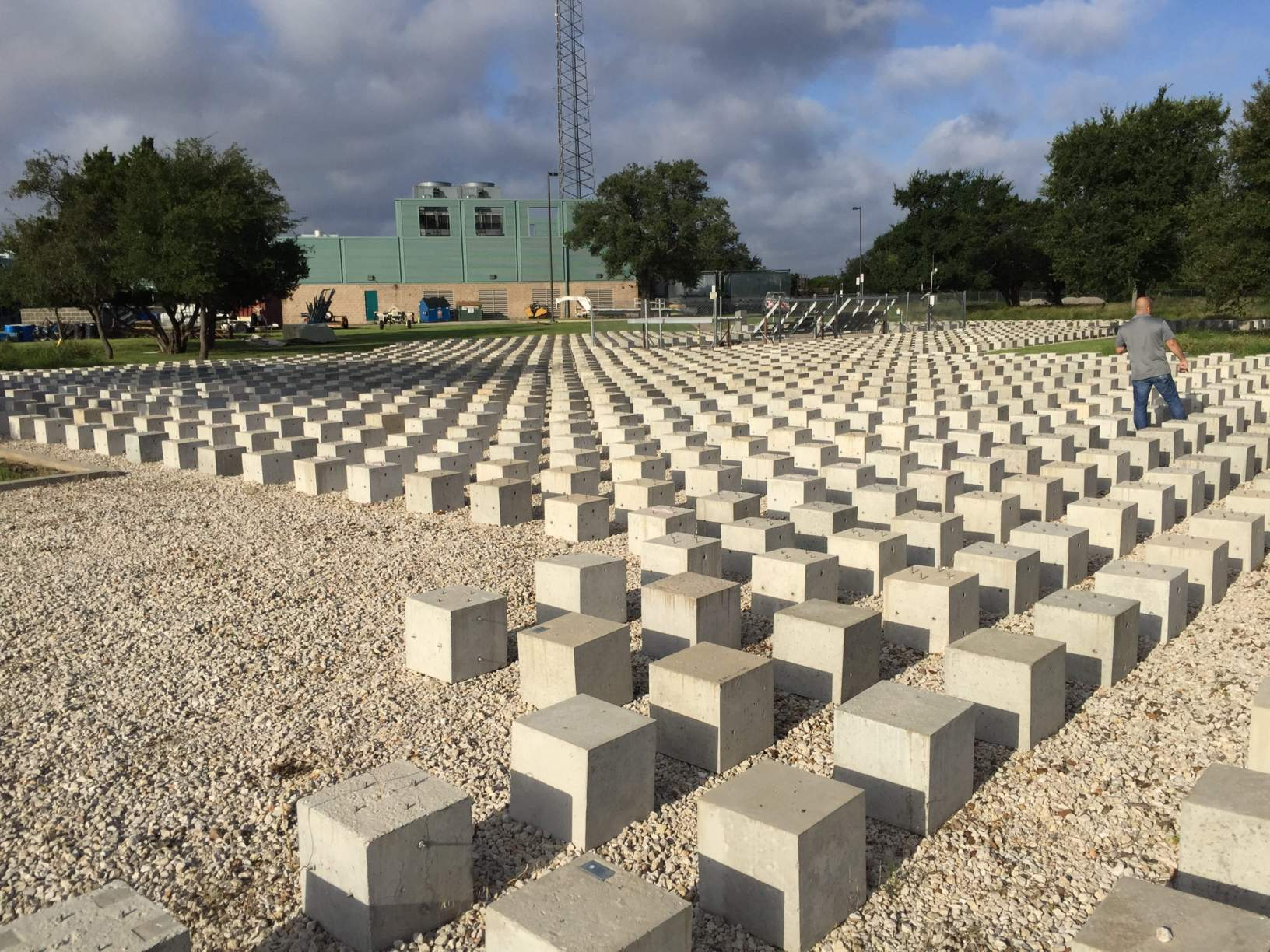Texas Department of Transportation (TxDOT) Concrete Exposure Site located in Cedar Park, TX