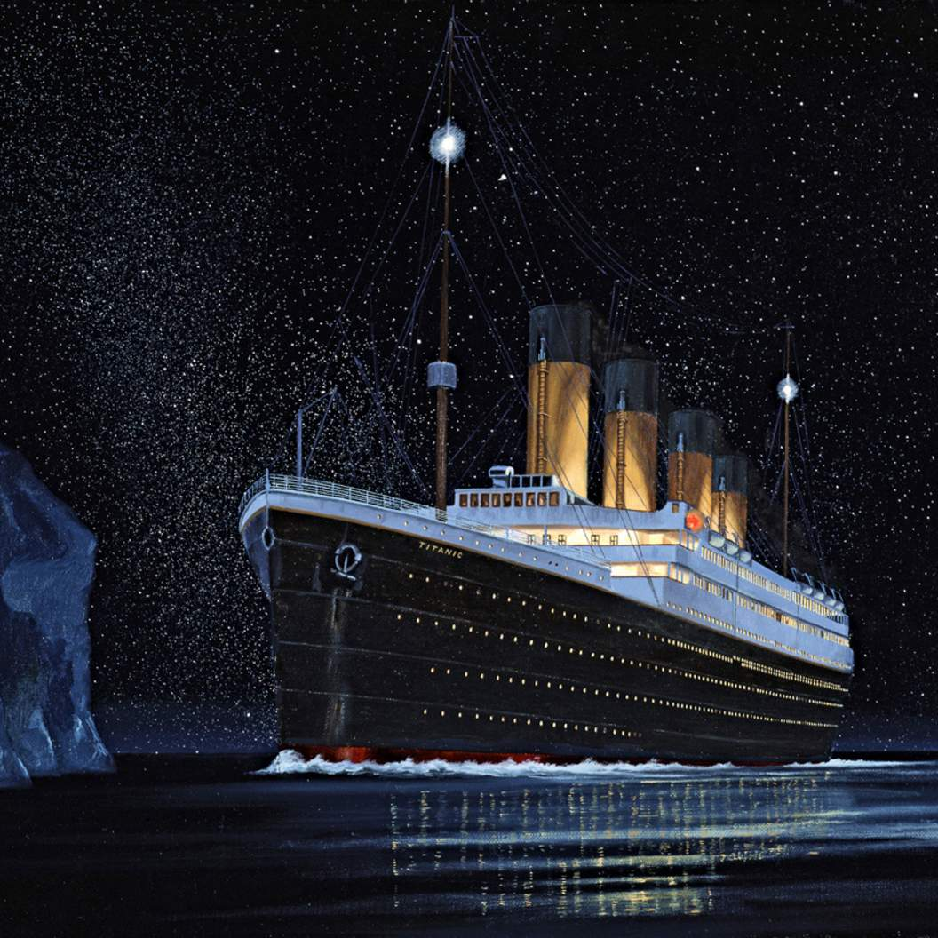 The Iceberg S Accomplice Did The Moon Sink The Titanic Office Of