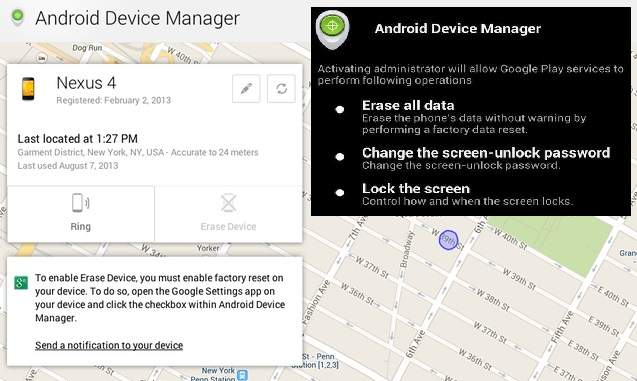 Android Security Settings : Information Security Office