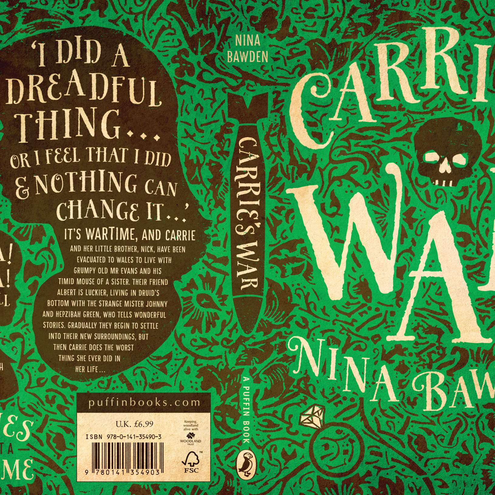 Lindsay Starr Carrie's War Bookcover