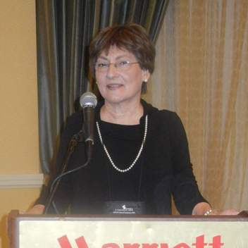 Marilyn Balanoff at the October 2012 National Conference of the American Academy for Certified Public Management (AACPM)