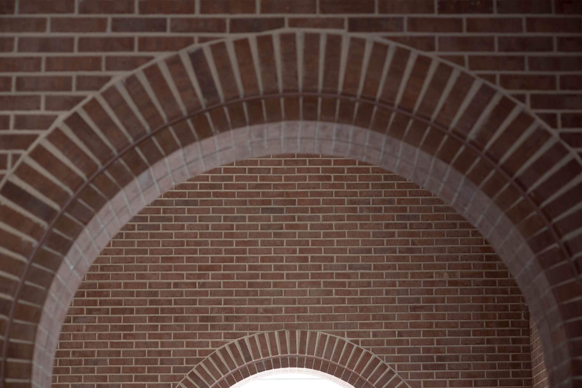 UAC arch with brick wall detail