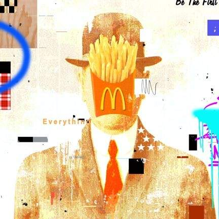 Commercial art McDonald's